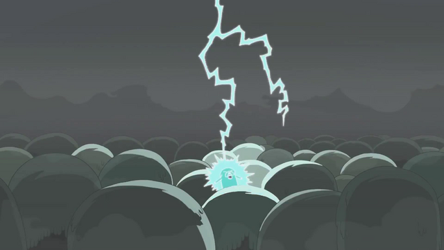 File:S4 E23 Jake getting struck by a lightning.png