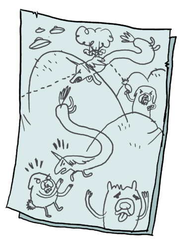 File:Rainicorn Dog Wars Drawing.png