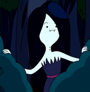 S1e22 Marceline in bushes