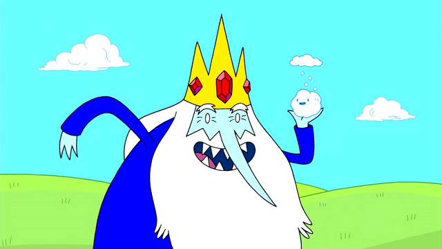 File:Ice King with Snowball.png