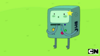 S5 e39 BMO with a gold star