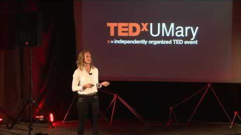 Redefining the Olympic Dream Dagny Knutson TEDxUMary
