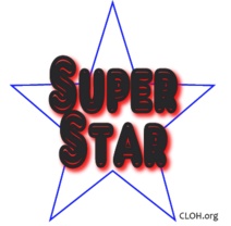 Super-Star badge 1