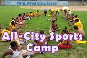 All City Sports Camp mini-art