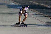 Chrysta Rands skater