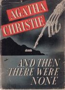 And Then There Were None US First Edition Cover 1940