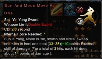 (Yin Yang Sword) Sun And Moon Move As One (Description)