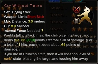 (Crying Stick) Cry Without Tears (Description)