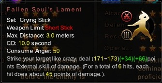 (Crying Stick) Fallen Soul's Lament (Description)