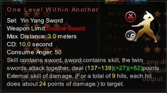 (Yin Yang Sword) One Level Within Another (Description)