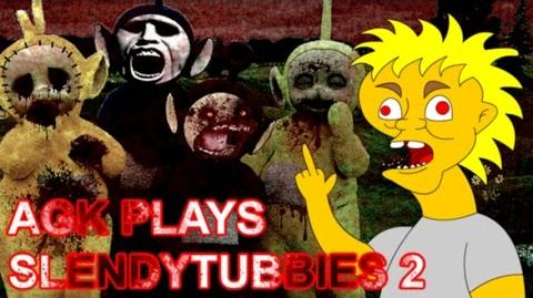 Angry German Kid Plays Slendytubbies 2