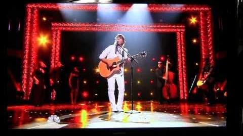 America's Got Talent 2010 top 10- Taylor Mathews-What a wonderful world