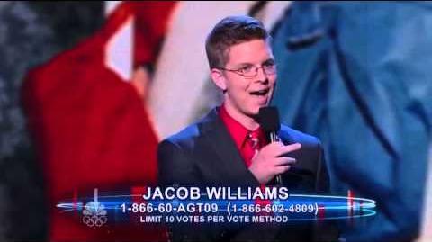 FULL Jacob Williams - Quarterfinal - America's Got Talent 2012