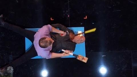 America's Got Talent 2016 The Passing Zone Hilarious Jugglers Terrorize Howie Full Audition Clip
