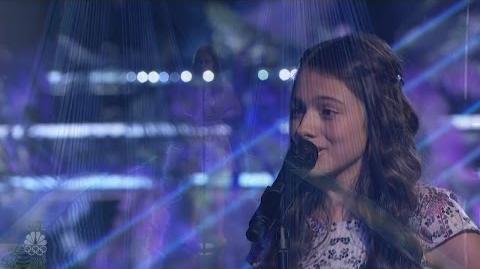 America's Got Talent 2016 Laura Bretan 13 Y.O