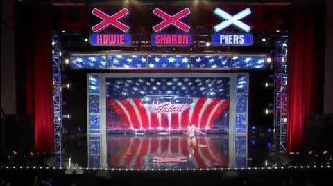 Unsuccessful ~ America's Got Talent 2010, auditions Orlando