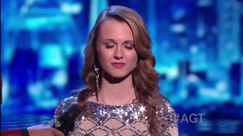 Bria Kelly, 1st Semifinal ~ America's Got Talent 2012