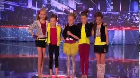 America's Got Talent 2013 Audition - Fresh Faces Dance Group Performs to Ke$ha's Die Young