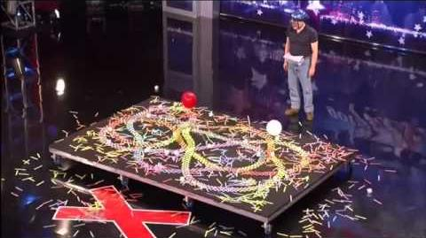 The Kinetic King, 47 ~ America's Got Talent 2011, Minneapolis Auditions-0