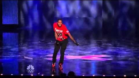 Stepz - Dancer - Vegas Round - America's Got Talent 2012