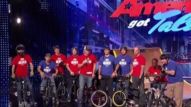 American BMX Stunt Team, Auditions ~ America's Got Talent 2012-0