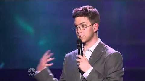 Jacob Williams - Vegas Round - America's Got Talent 2012