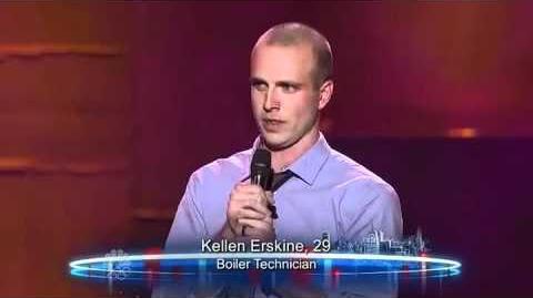Kellen Erskine - Vegas Round - America's Got Talent 2012