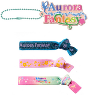 Aurora Fantasy Hair and Charm