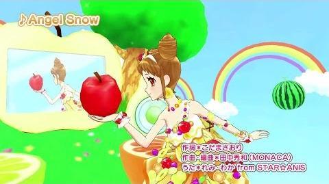 アイカツ!ミュージックビデオ『Angel Snow』をお届け♪