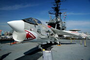 Vought F-8 Crusader USS Midway-2007-03-25