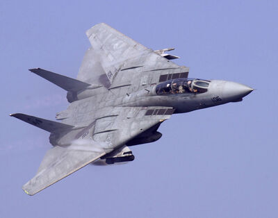 F-14D VF-31 Abraham Lincoln Flyby (2002)