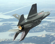 AIR F-35 Left Wingover Rear View lg