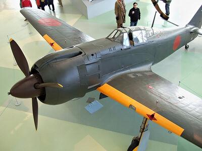 800px-Ki-100 in the RAF Museum 01