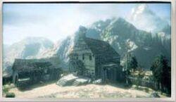 Southeast Cliffs Ghost Town