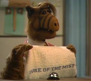 Duke of the Mist towel