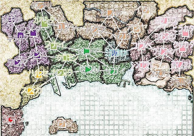 Daiakuji - Map