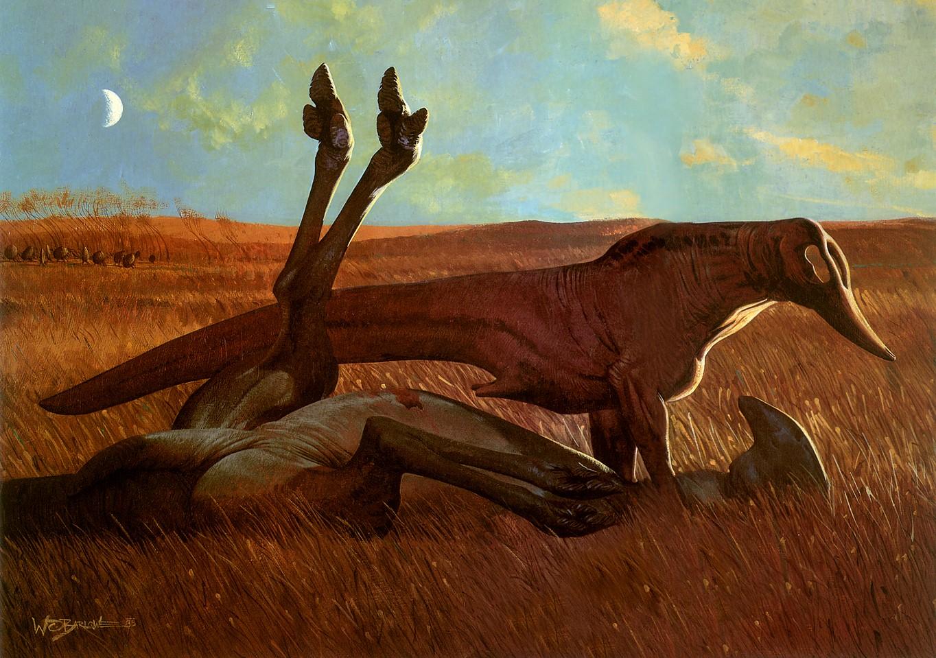 Image Am Wayne Barlowe Prairie Ramjpg Alien Species Fandom Powered By Wikia
