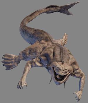 Sando aqua monster