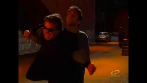 Cole restrains the Enixian