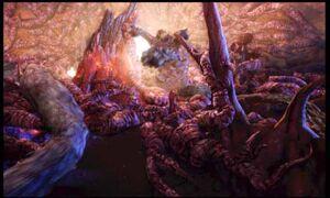 Cavern tentacles
