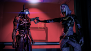 Legion Tali Loyalty Confrontation