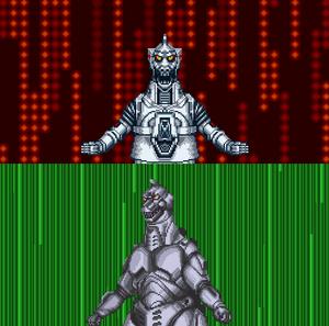 MechaGodzilla's two forms