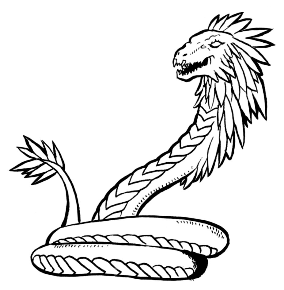 Free coloring pages snakes - Coloring Pages Snakes Arrak Snake