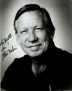 Allan Melvin autographed