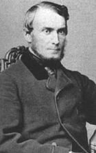 middle aged man in Victorian clothing
