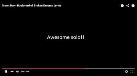 Me attempting to sing green day boulevard of broken dreams