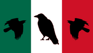 Flag of Mexico (Old) (World of the Rising Sun)