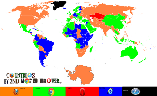 File:Countries by second most used browser.png