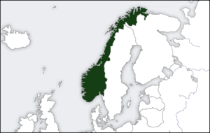 Location of Norway Deutschland Siegt