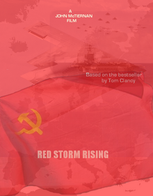 Red Storm Rising movie poster, 1992